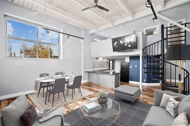 3309 Blake Street #104, Denver, CO 80205 (#2800409) :: Berkshire Hathaway Elevated Living Real Estate