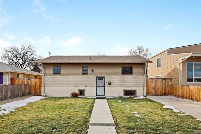 135 Wolff Street, Denver, CO 80219 (#2801997) :: 5281 Exclusive Homes Realty