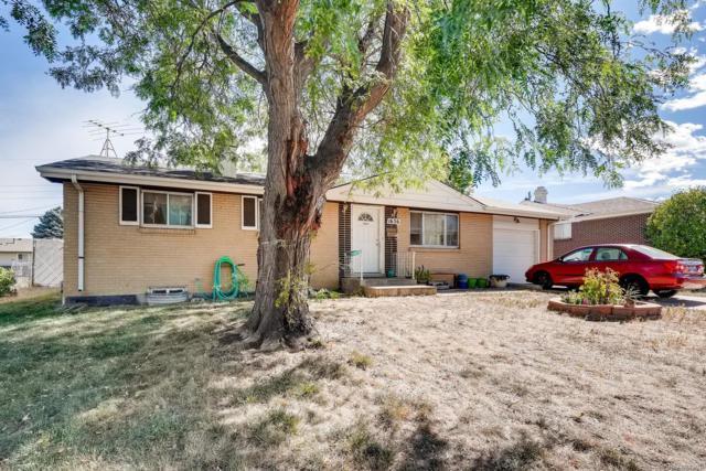 1656 S Yarrow Court, Lakewood, CO 80232 (MLS #2803793) :: 8z Real Estate