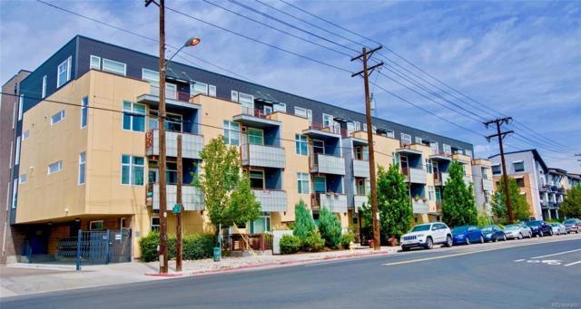 3101 Blake Street #305, Denver, CO 80205 (MLS #2804999) :: 8z Real Estate