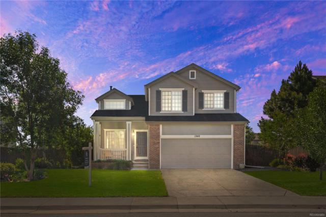1240 N Burlington Drive, Castle Rock, CO 80104 (MLS #2806866) :: 8z Real Estate
