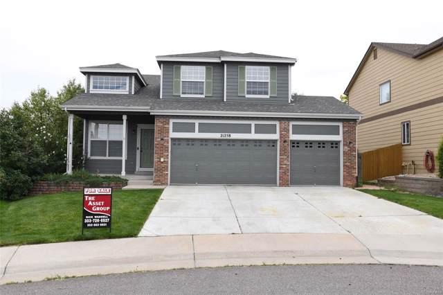 21258 Snowshoe Lane, Parker, CO 80138 (MLS #2807431) :: 8z Real Estate