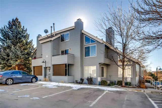 8500 E Jefferson Avenue 16B, Denver, CO 80237 (#2813905) :: RE/MAX Professionals