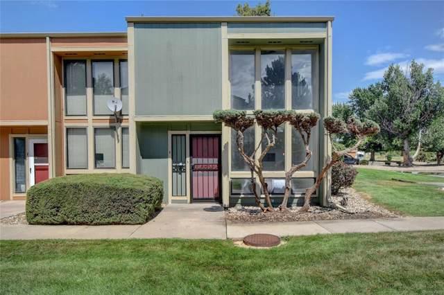 10390 Tumbleweed Drive #8, Thornton, CO 80229 (MLS #2820321) :: 8z Real Estate