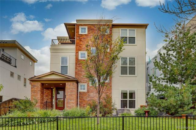 2046 N High Street A, Denver, CO 80205 (#2821842) :: Chateaux Realty Group