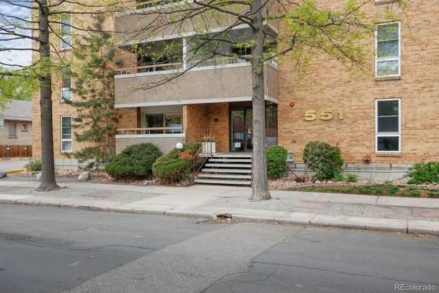 551 Pearl Street #208, Denver, CO 80203 (#2825364) :: The HomeSmiths Team - Keller Williams