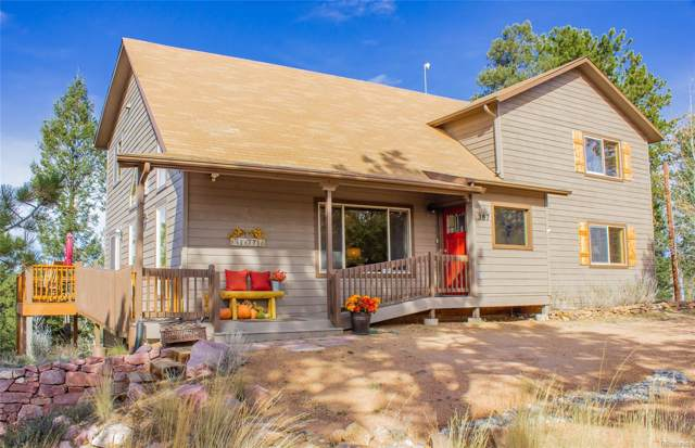 387 Cottonwood Lake Drive, Divide, CO 80814 (#2826714) :: Bring Home Denver with Keller Williams Downtown Realty LLC