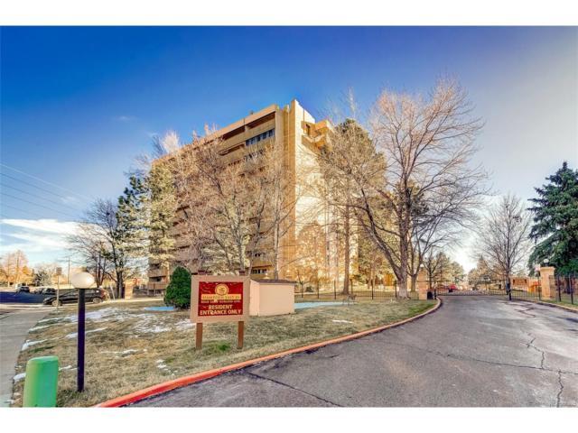 8060 E Girard Avenue #912, Denver, CO 80231 (#2826770) :: Hometrackr Denver