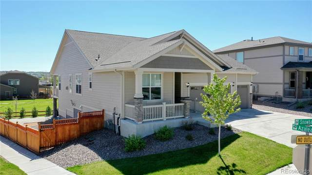 8888 Snowball Way, Parker, CO 80134 (#2827386) :: The DeGrood Team