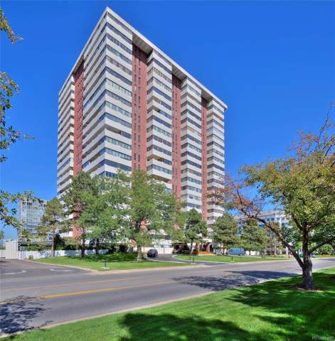 3131 E Alameda Avenue #905, Denver, CO 80209 (#2828097) :: The Peak Properties Group