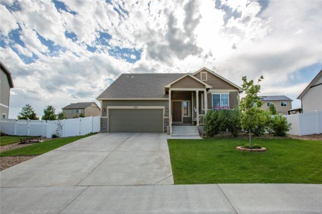 424 Juniper Street, Johnstown, CO 80534 (#2829311) :: The Galo Garrido Group