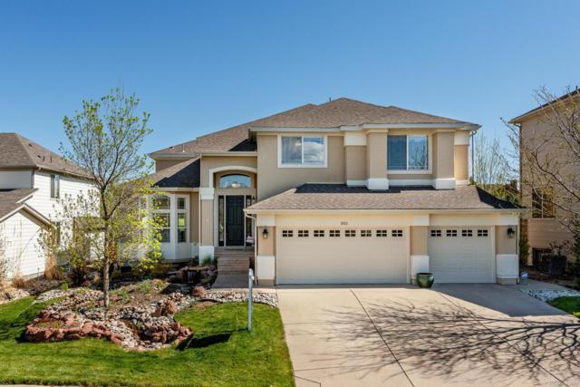 1013 Foursome Drive, Castle Rock, CO 80104 (MLS #2830058) :: 8z Real Estate