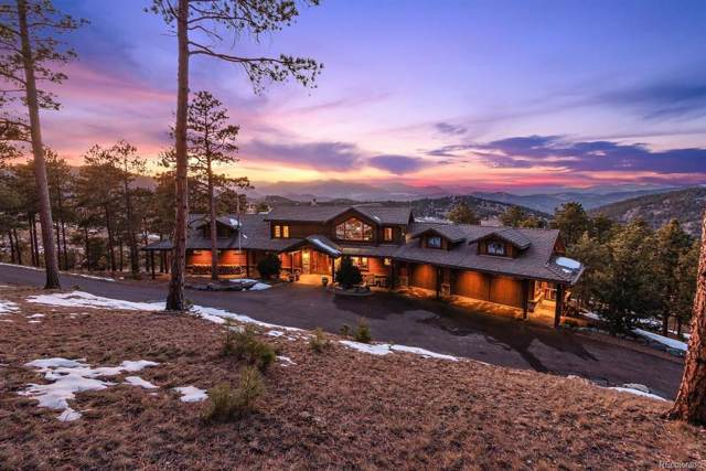 4175 Game Trail, Indian Hills, CO 80454 (#2836623) :: Berkshire Hathaway Elevated Living Real Estate