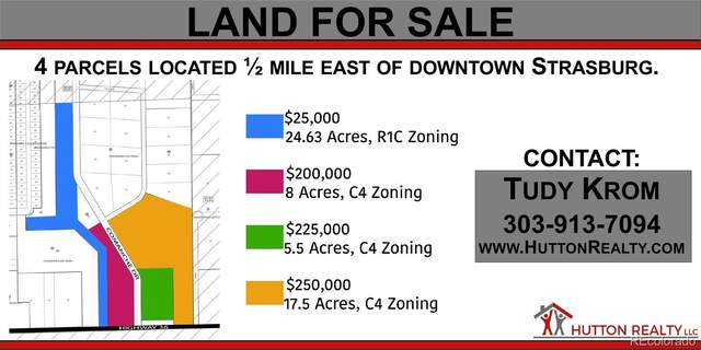 5.5 Acres Vacant Land, Strasburg, CO 80136 (#2839500) :: Peak Properties Group