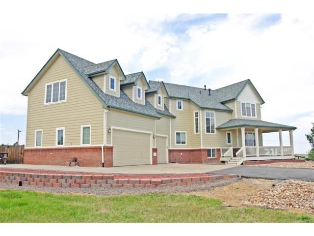 845 Antelope Drive, Bennett, CO 80102 (MLS #2839609) :: 8z Real Estate