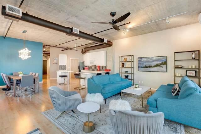 290 W 12th Avenue #203, Denver, CO 80204 (#2839850) :: Colorado Home Finder Realty