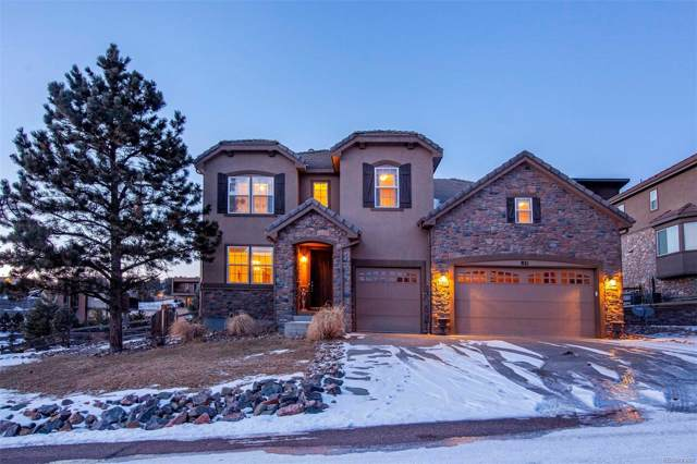 821 Elk Rest Road, Evergreen, CO 80439 (MLS #2841806) :: 8z Real Estate