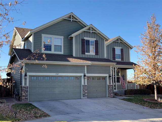 11847 S Rock Willow Way, Parker, CO 80134 (#2843039) :: Venterra Real Estate LLC