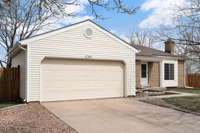 17365 E Belleview Place, Centennial, CO 80015 (#2843836) :: The Heyl Group at Keller Williams