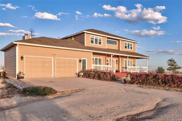 11125 Eureka Road, Calhan, CO 80808 (MLS #2845295) :: 8z Real Estate