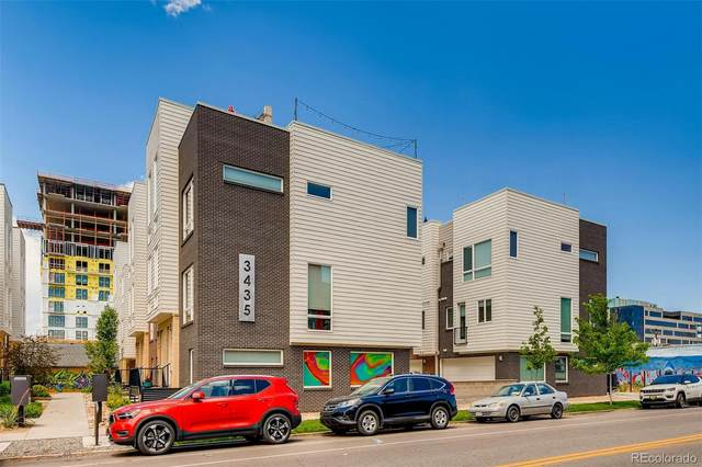 3435 Larimer Street #107, Denver, CO 80205 (#2847135) :: The Heyl Group at Keller Williams