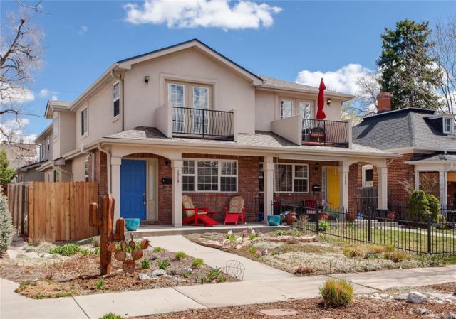 1518 S Pennsylvania Street, Denver, CO 80210 (#2849463) :: The Peak Properties Group