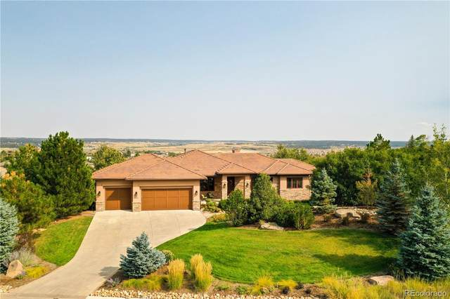 4998 Carefree Trail, Parker, CO 80134 (#2851433) :: The Margolis Team