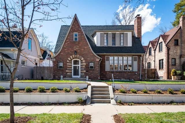 583 N High Street, Denver, CO 80218 (#2854493) :: The Harling Team @ Homesmart