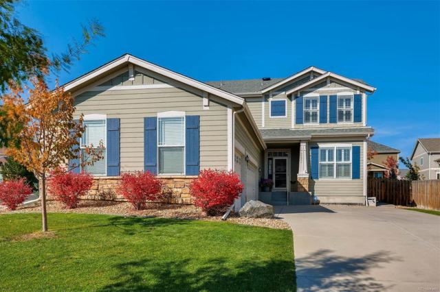 11352 S Trailmaster Circle, Parker, CO 80134 (#2855507) :: The Peak Properties Group