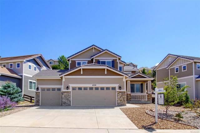 2388 Bellavista Street, Castle Rock, CO 80109 (#2858498) :: The Peak Properties Group