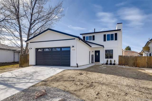 4763 S Taft Street, Morrison, CO 80465 (#2859958) :: The Dixon Group
