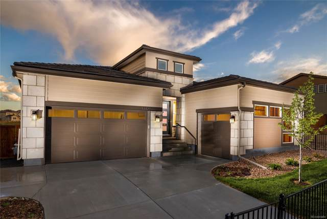 13802 Watermark Lane, Parker, CO 80134 (#2860359) :: The Galo Garrido Group