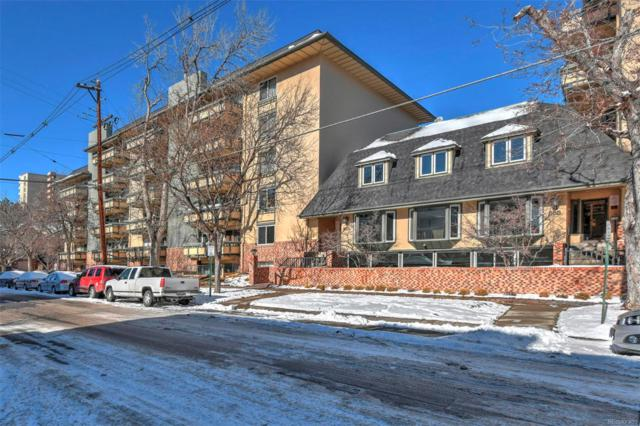 555 E 10th Avenue #414, Denver, CO 80203 (#2860483) :: The Pete Cook Home Group