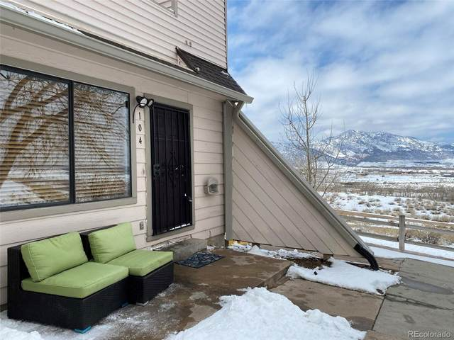 4206 S Eldridge Street #104, Morrison, CO 80465 (#2861213) :: The Dixon Group
