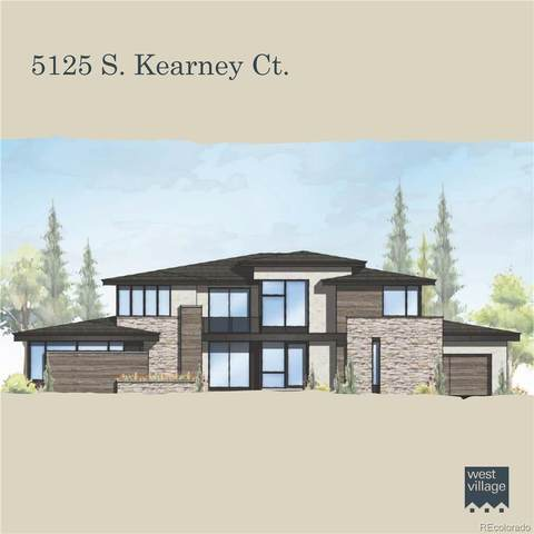 5125 S Kearney Court, Greenwood Village, CO 80111 (#2862330) :: iHomes Colorado
