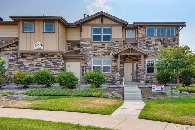 24586 E Calhoun Place A, Aurora, CO 80016 (#2862376) :: Real Estate Professionals