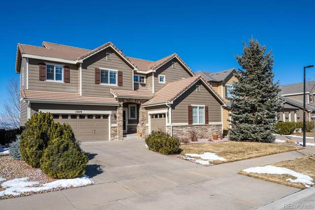 12019 Hazy Hills Drive, Parker, CO 80138 (#2864103) :: The Dixon Group