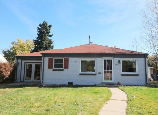 1074 Kearney Street, Denver, CO 80220 (#2870025) :: The Griffith Home Team