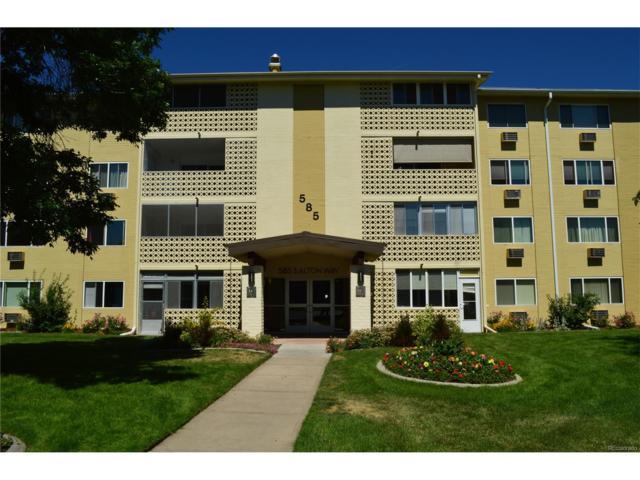 585 S Alton Way 12D, Denver, CO 80247 (MLS #2873604) :: 8z Real Estate