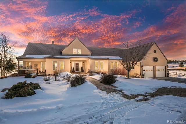 4965 Moonshine Ridge Trail, Parker, CO 80134 (MLS #2874959) :: 8z Real Estate