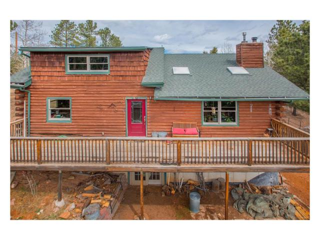 136 Sequoia Trail, Woodland Park, CO 80863 (MLS #2876115) :: 8z Real Estate