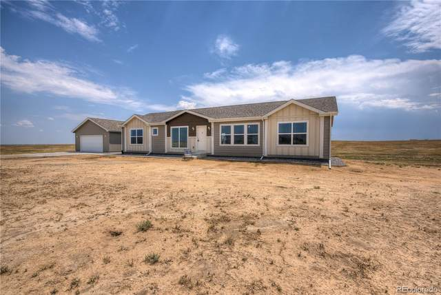 61605 E 38th Avenue, Strasburg, CO 80136 (#2876328) :: The Dixon Group