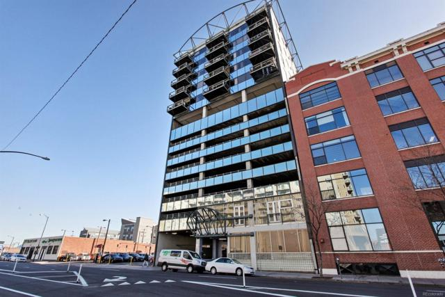 2020 Arapahoe Street #1170, Denver, CO 80205 (#2877379) :: Colorado Team Real Estate