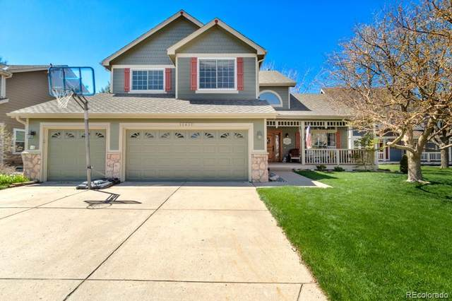 12837 S Silver Plume Street, Parker, CO 80134 (#2880309) :: The Scott Futa Home Team