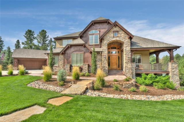 5145 Serene View Way, Parker, CO 80134 (#2880867) :: The DeGrood Team