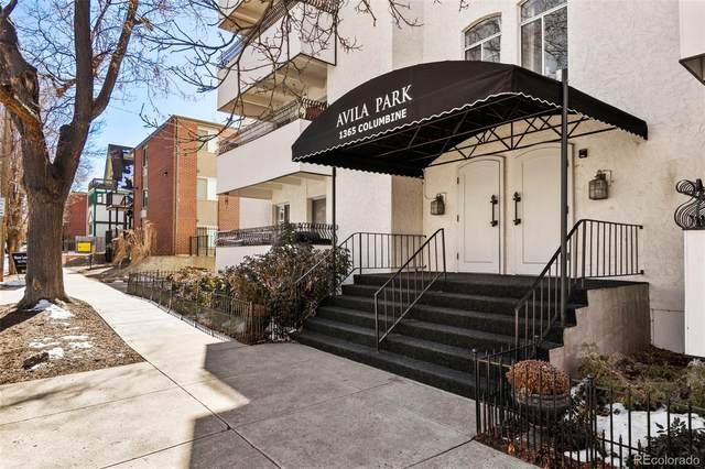 1365 Columbine Street #102, Denver, CO 80206 (#2881305) :: The Dixon Group