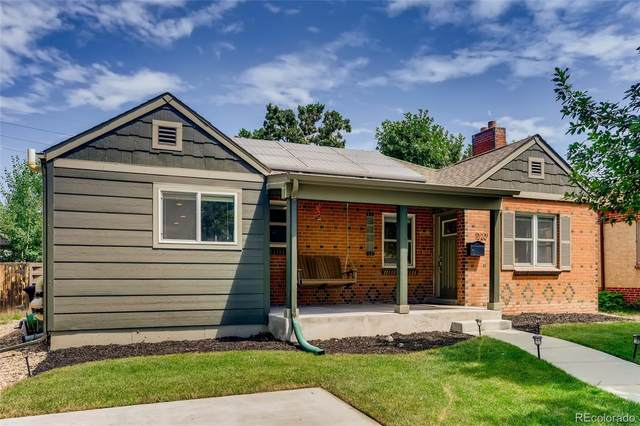1320 Ivy Street, Denver, CO 80220 (#2881829) :: Stephanie Fryncko | Keller Williams Integrity