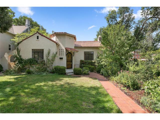 2201 S Columbine Street, Denver, CO 80210 (#2883470) :: Wisdom Real Estate