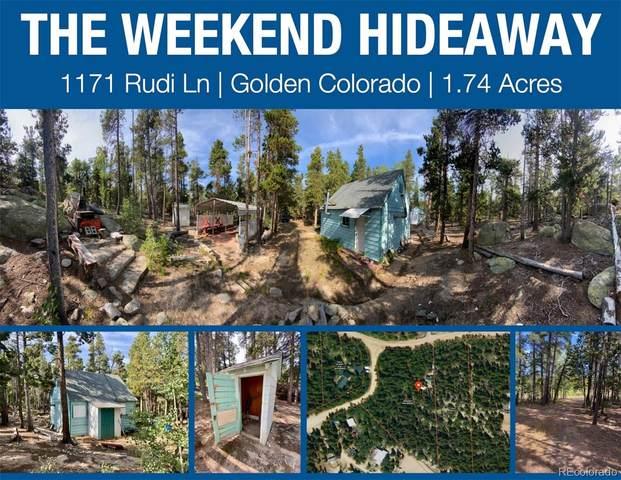 1171 Rudi Lane, Golden, CO 80403 (MLS #2883745) :: Bliss Realty Group