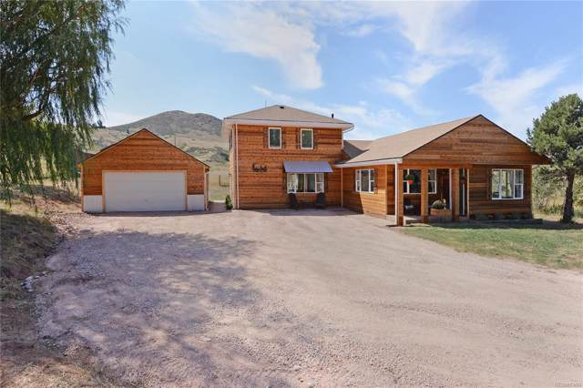 74 Springs Ranch Road, Laporte, CO 80535 (MLS #2886881) :: Kittle Real Estate